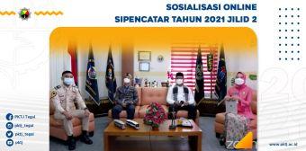 Sosialisasi Online SIPENCATAR Tahun 2021 Jilid 2
