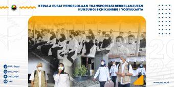 Kepala Pusat Pengelolaan Transportasi Berkelanjutan Kunjungi BKN Kanreg I Yogyakarta