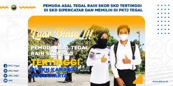 Luar Biasa ! Pemuda Asal Tegal Raih Skord SKD Tertinggi SKD Sipencatar di BKN Yogyakarta dan Memilih di PKTJ Tegal
