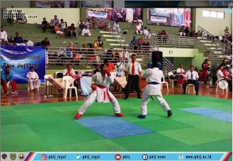 Taruna/i Politeknik Keselamatan Transportasi Jalan memenangkan kejuaraan Karate Piala Ketua FOKRI Ke-IV Tingkat Jawa Tengah