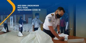 Aksi Bina Lingkungan PKTJ Tegal masa pandemi COVID-19