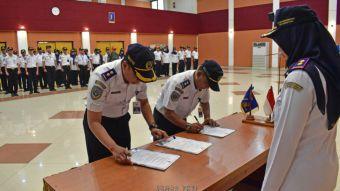 Serah terima jabatan Sub Bagian Umum PKTJ Tegal