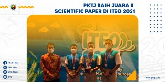 PKTJ Raih Juara II Scientific Paper di ITEO 2021
