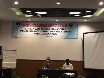 Bimbingan Teknis Manajeman Pengelolaan Jurnal Dan Pelatihan Penggunaan OJS PKTJ Tegal