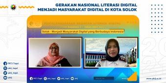 Gerakan Nasional Literasi Digital Menjadi Masyarakat Digital di Kota Solok