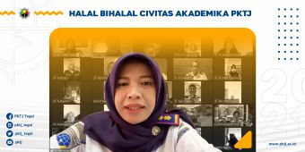 Halal Bihalal Virtual Civitas Akademika PKTJ 2021