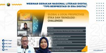 Webinar Gerakan Nasional Literasi Digital Tips Berprestasi di Era Digital