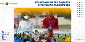 Direktur PKTJ Pantau Pelaksanaan Tes Samapta Sipencatar TA 2021/2022
