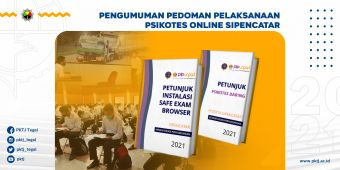 Pengumuman Pedoman Pelaksanaan Psikotes Online Sipencatar 2021