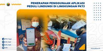 Penerapan Penggunaan Aplikasi Peduli Lindungi di Lingkungan PKTJ
