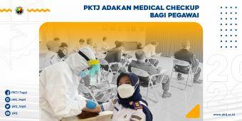 PKTJ Adakan Medical Checkup Bagi Pegawai