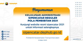 Pengumuman Kelulusan Seleksi Administrasi Jalur Pola Pembibitan 2021