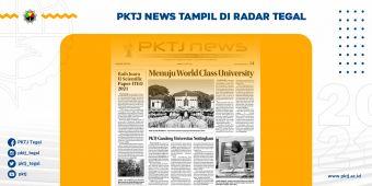 PKTJ News Tayang di Radar Tegal