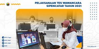 Pelaksanaan Tes Wawancara Sipencatar Tahun 2021