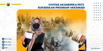 Civitas Akademika PKTJ Sukseskan Program Vaksinasi