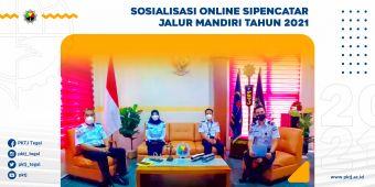 Sosialisasi SIPENCATAR Jalur Mandiri PKTJ Tahun 2021