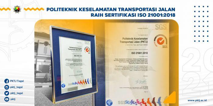 PKTJ Raih Sertifikasi ISO 21001:2018