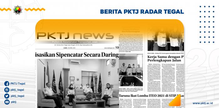 PKTJ News Tampil di Radar Tegal