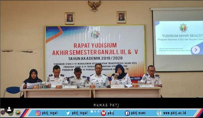 Rapat Yudisium Akhir Semester Ganjil Tahun Akademik 2019/2020