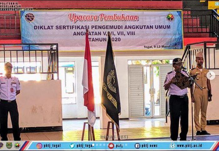 Pembukaan Diklat Sertifikasi Pengemudi Angkutan Umum (SPAU Provinsi DKI Jakarta)