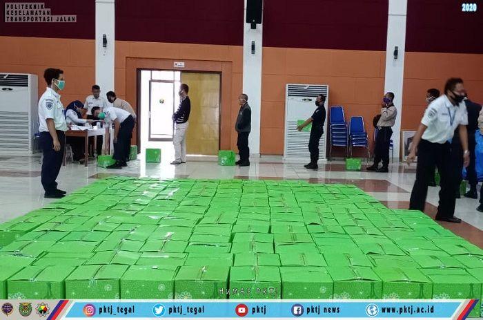PKTJ Tegal melaksanakan aksi Bina Lingkungan dalam rangka pencegahan wabah COVID-19