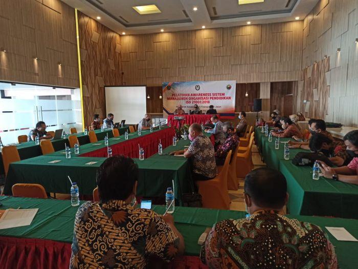 Pelatihan Awareness Sistem Manajeman Organisasi Pendidikan ISO 210001 : 2018 (PKTJ Tegal)