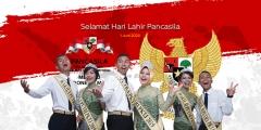 Kami DUTA PKTJ 2019 Mengucapkan Selamat Hari Lahir Pancasila 1 Juni 1945 - 1 Juni 2020